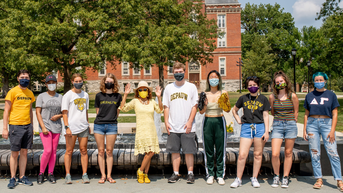 Pandemic, other characteristics distinguish DePauw's Class of '24