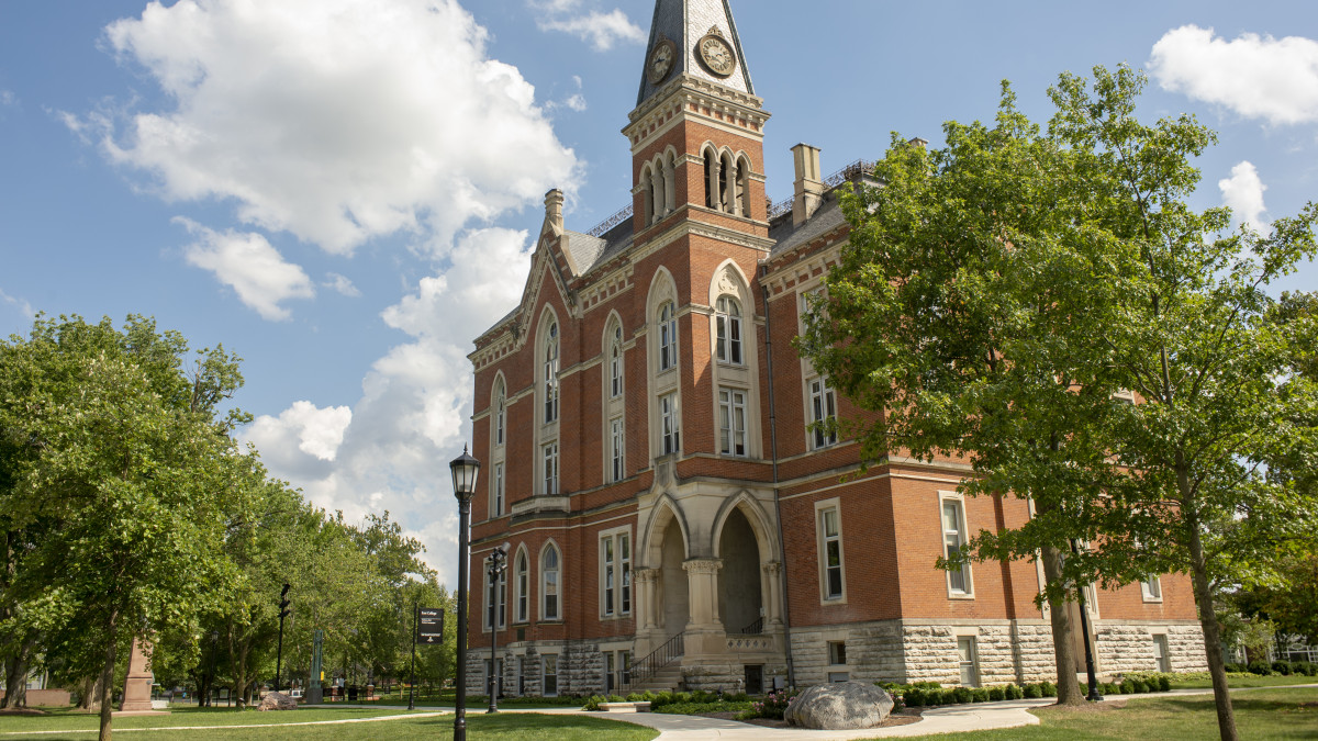 Walkway to commemorate former student's gift to DePauw