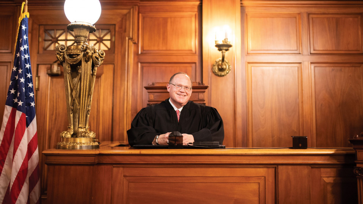Kentucky Supreme Court Justice C. Shea Nickell '81