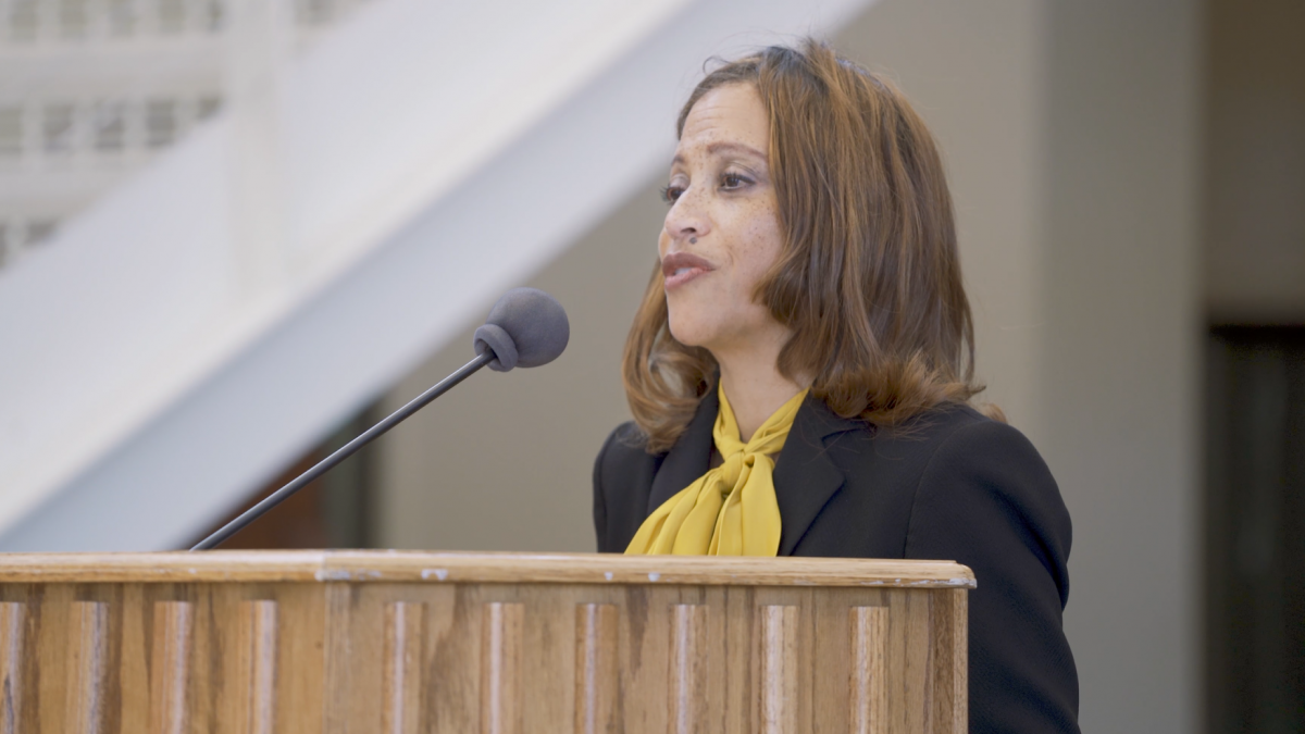 Moments From the Introduction of DePauw's 21st President Dr. Lori White