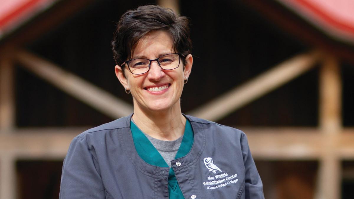 Veterinarian Amber McNamara