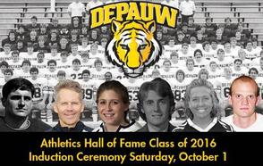 It's Hall of Fame Weekend at DePauw