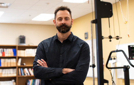 Brian Wright of kinesiology writes about teaching in the pandemic