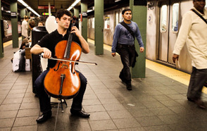 Founder of 'Bach in the Subways' Movement Here This Week