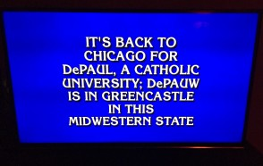 DePauw Gets a Mention on 'Jeopardy!'