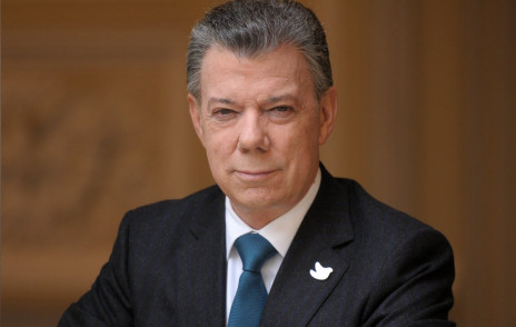 COLOMBIAN PRESIDENT AND 2016 NOBEL PEACE PRIZE WINNER JUAN MANUEL SANTOS COMING FOR OCT. 22 UBBEN LECTURE