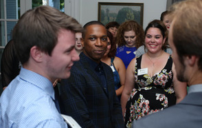 Tony-Winning 'Hamilton' Star Leslie Odom Jr. Visits DePauw