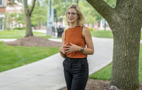 Hispanic studies prof Paige Andersson