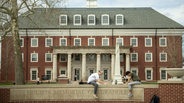 DePauw listed among 30 best value Midwestern colleges