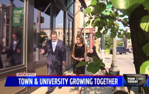 Greencastle & DePauw Featured as TV Station's 'Your Town Friday'