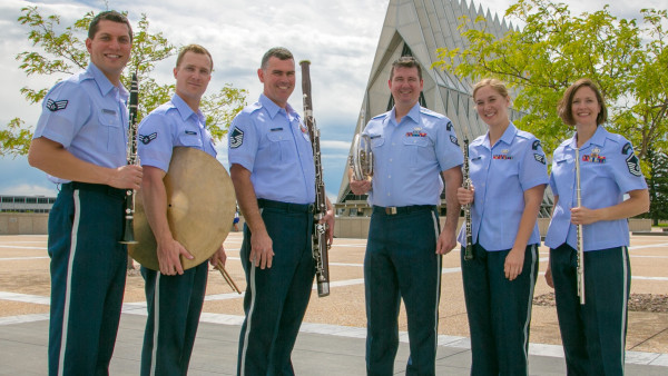 U.S. Air Force Academy Band's 'Academy Winds' to perform Tuesday