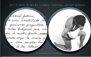 Carol Bowers Norris Visiting Artist:  Dr. Josh T. Franco