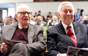 They Had a Hand in Saving the World; Lee Hamilton '52 & Richard Lugar to Discuss the Need for Civility in Feb. 15 DePauw Appearance