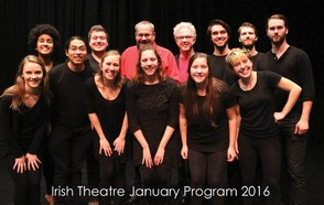 Aidan Catellier '19 Spent Winter Term in Ireland at The Gaiety School of Acting