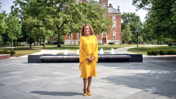 Lori S. White assumes DePauw's presidency, the first Black woman to do so