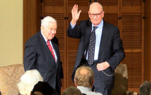 'Restoring Civility' is the Task of Each and Every American Citizen, Lee Hamilton '52 & Richard Lugar Tell DePauw Audience