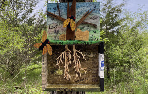Messages of Hope at the DePauw Nature Park