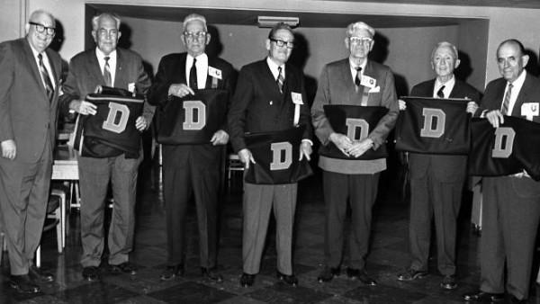 Pro Football Stint of Former Congressman Winfield Denton '19 Noted in Newspaper